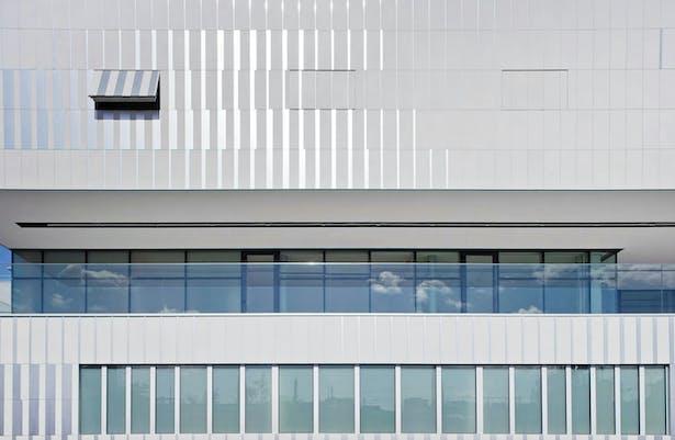 East façade