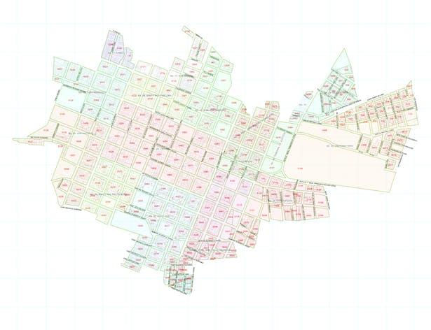 San Juan Bautista with Neighbourhood Divisions