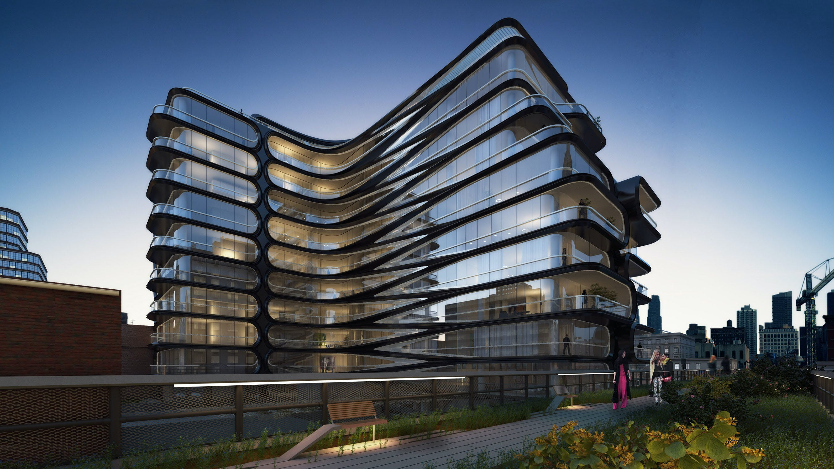 Zaha Hadid Architects Commissioned To Design High Line Condo To Be First Hadid Project In Nyc