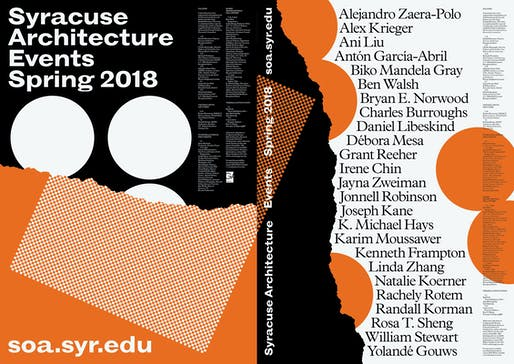 Poster courtesy of Syracuse Architecture.