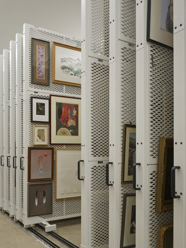 Art storage panels