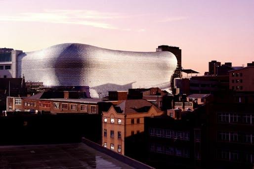 Selfridges, Birmingham by Amanda Levete Architects. Photo by Norbert Schoerner, via mpavilion.org.