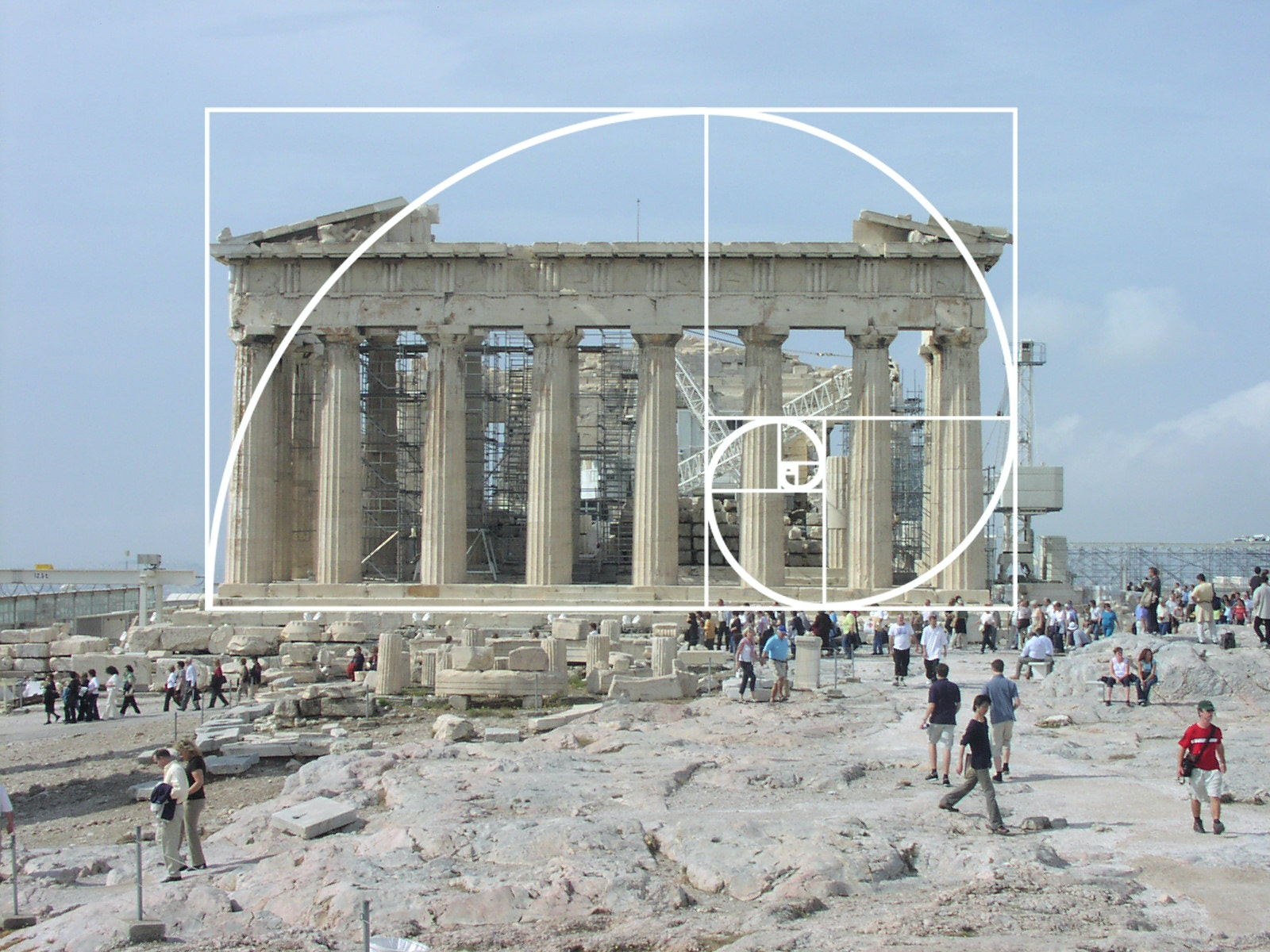 Photo of the Parthenon by Sébastien Bertrand on Flickr. Image via fastcodesign.com & The Golden Ratio: Relevant or not?   News   Archinect