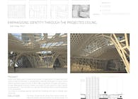 Emphasising Identity Through The Projected Ceiling