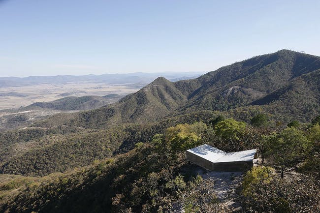Las Cruces Pilgrim Lookout Point, 2010, Jalisco, Mexico. Photo by Iwan Baan. Image courtesy of ELEMENTAL.