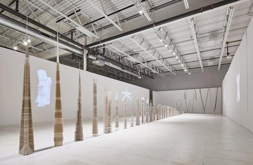 """Poetic Structure: Art + Engineering + Architecture"". Photo © Tom Harris."