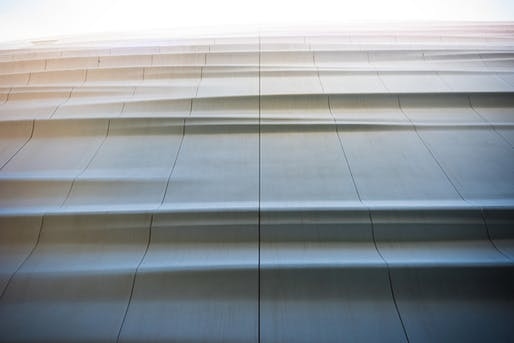 Facade detail of the Snøhetta-designed SFMOMA expansion. (Photo: Jon McNeal, © Snøhetta)