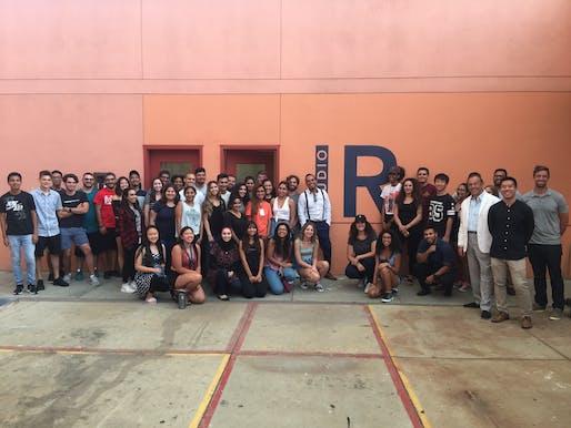 Ignacio Rodriguez and Students, Image Courtesy Woodbury School of Architecture