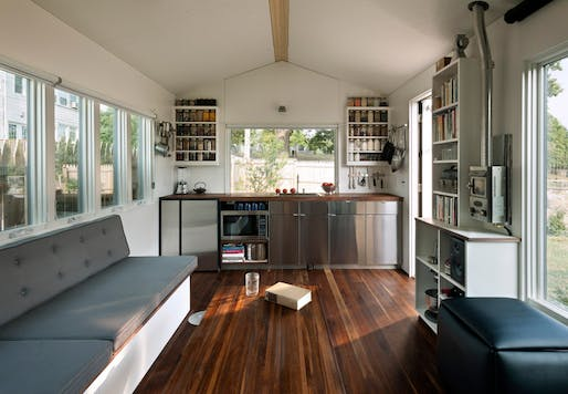 The 210-square-foot Minim House by Foundry Architects in Washington. Image via minimhomes.com