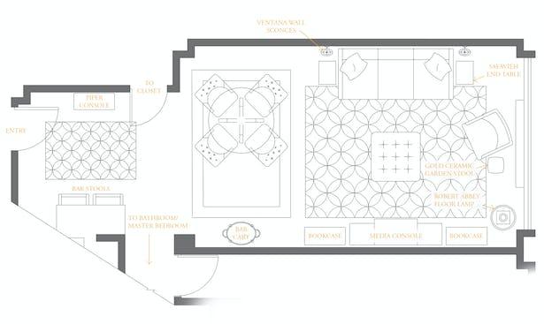 Final floor plan.