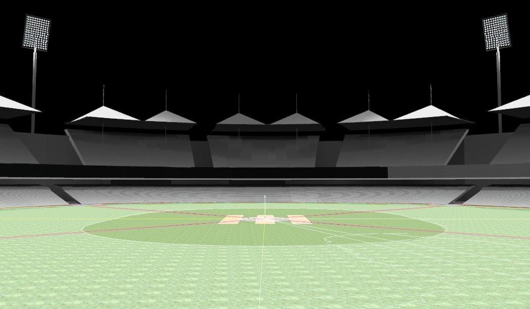 Cricket Stadium Lighting Design & Sports Lighting design   Lightvolumes Lighting Designers   Archinect azcodes.com