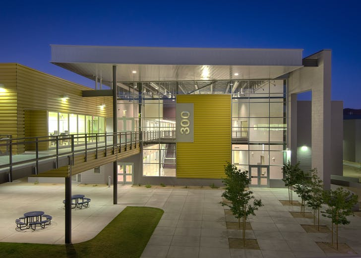 Fairfax High School in Phoenix. Credit: MIIM Designs