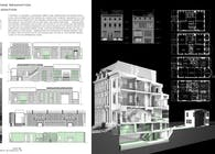 Tudor Brownstone and Carriage House Restoration and Adaptation