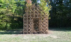 "OMG! designs ""Primitive Hut,"" a pavilion that will decompose over time"
