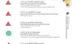 Get Lectured: University of Maryland, Fall '14