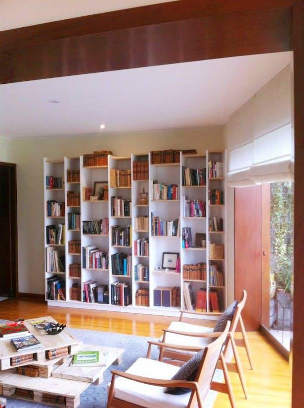Bookshelves, 2015