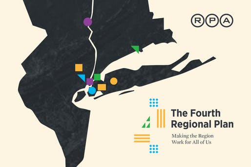 'The Fourth Regional Plan' exhibition at the AIA New York Center for Architecture. Image: Center for Architecture.