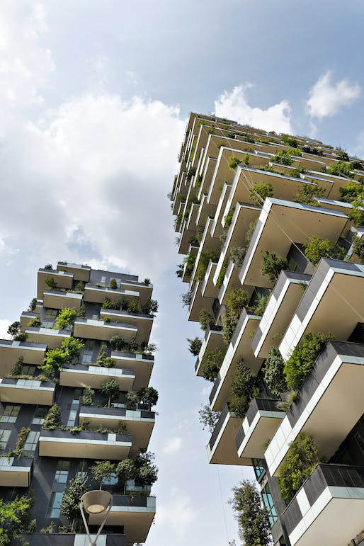 WINNER OF INTERNATIONAL HIGHRISE AWARD 2014: 'Bosco Verticale' by Boeri Studio. Photo © Kirsten Bucher