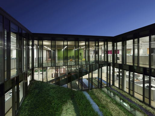 Lamar Advertising Corporate Headquarters by Eskew+Dumez+Ripple.