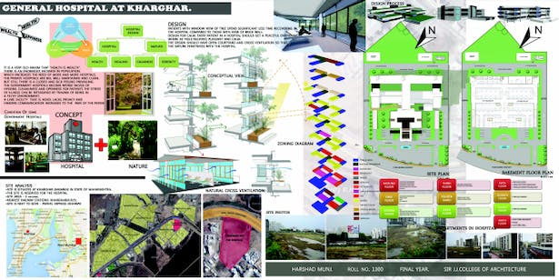 Thesis - General Hospital | Harshad Munj | Archinect
