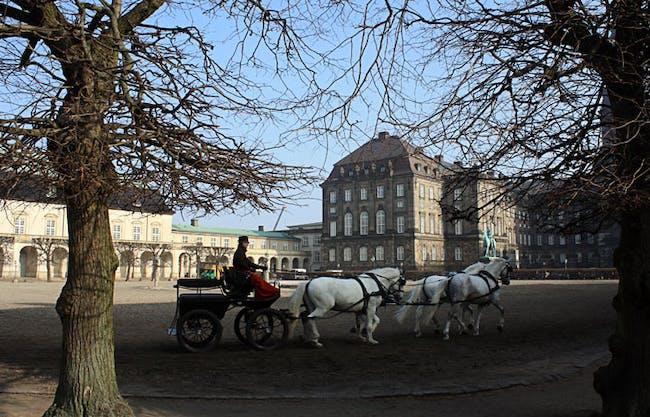 Christiansborg Palace Square