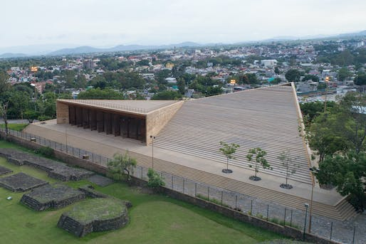 ​2018 MCHAP finalist: Teopanzolco Cultural Center in Cuernavaca, Mexico. Photo: Jaime Navarro Soto.