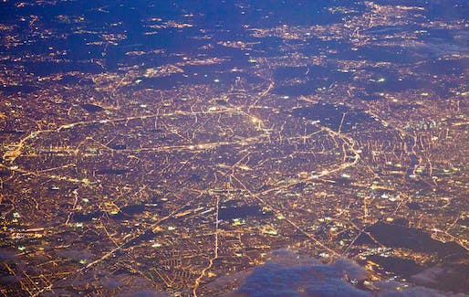 Paris from above (photo by Abdulsalam Haykal via flickr)