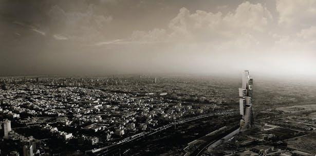panoramic rendering in site