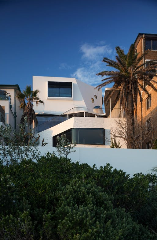 Tamarama House by Durbach Block Jaggers Architects. Photo: John Gollings.
