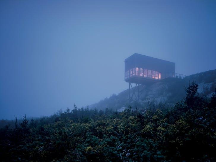 Cliff House, Tomlee Head, Nova Scotia, 2008 / Photograph: James Brittain