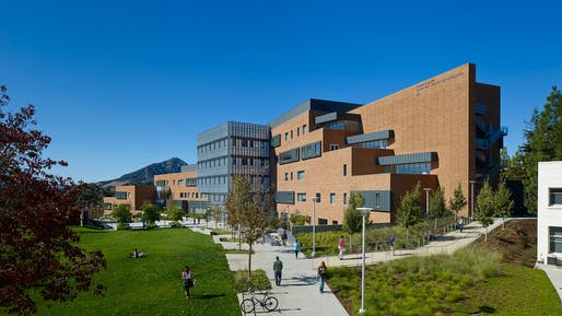 Warren J. Baker Center for Science and Mathematics, San Luis Obispo, California. Image: ZGF Architects