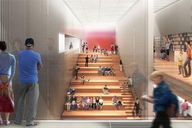 New York Public Library (under construction) by TEN Arquitectos. Image © TEN Arquitectos