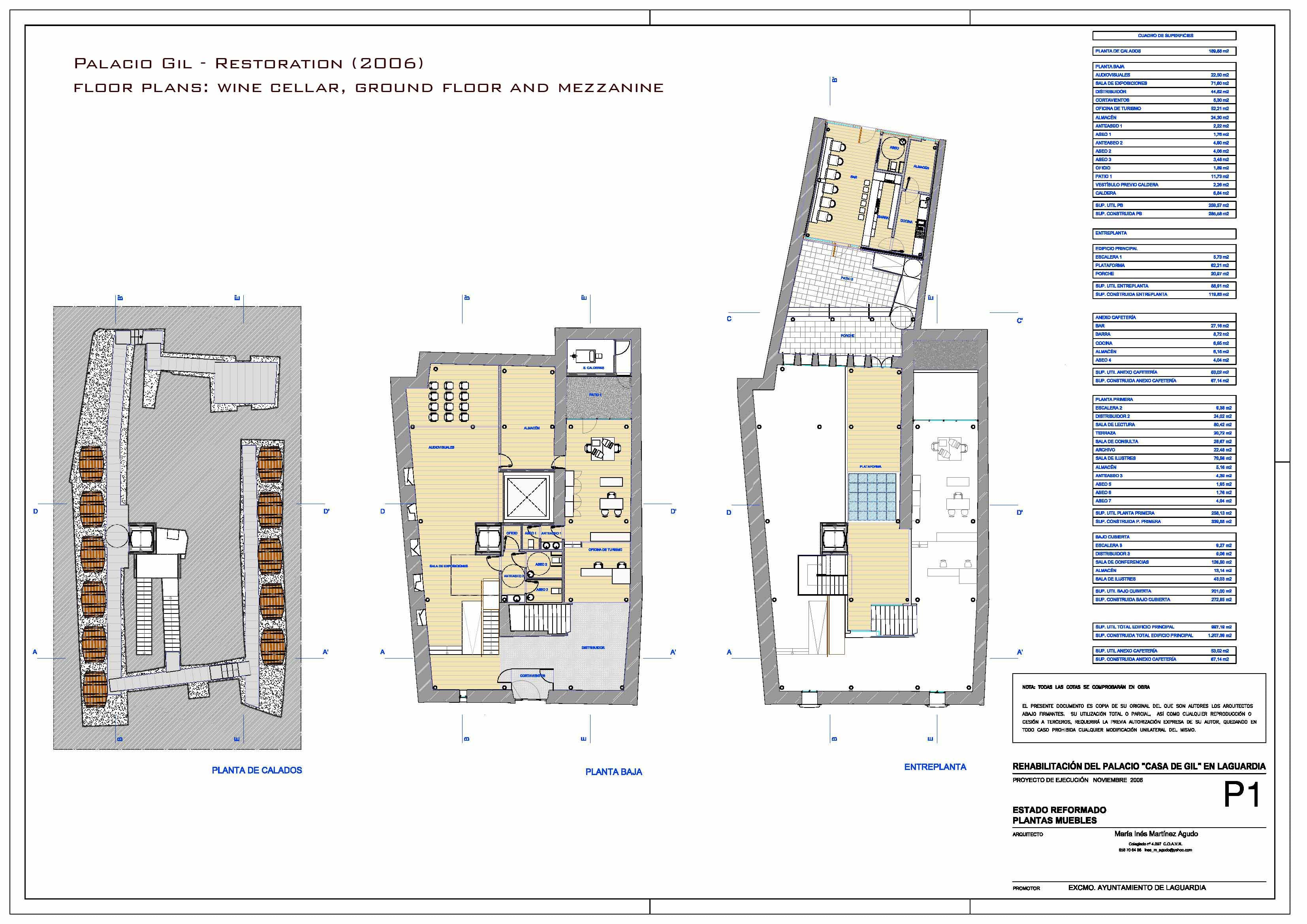 Palacio Gil Maria Ines Martinez Archinect # Muebles Martinez