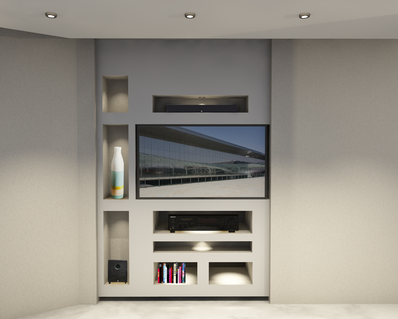 Custom Furniture Design For Gonzalez Residence