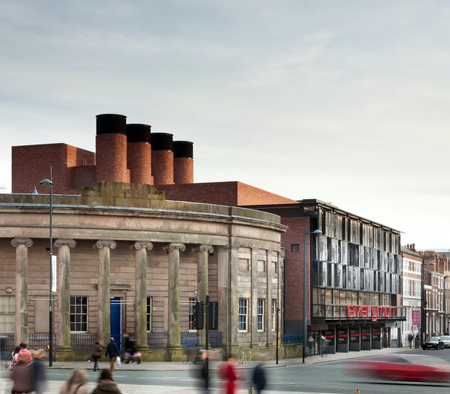 Everyman Theatre in Liverpool for United Kingdom by Haworth Tompkins. Photo © Philip Vile