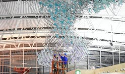 Sam Fox Architecture students install 'Spectroplexus' at St. Louis Lambert International Airport