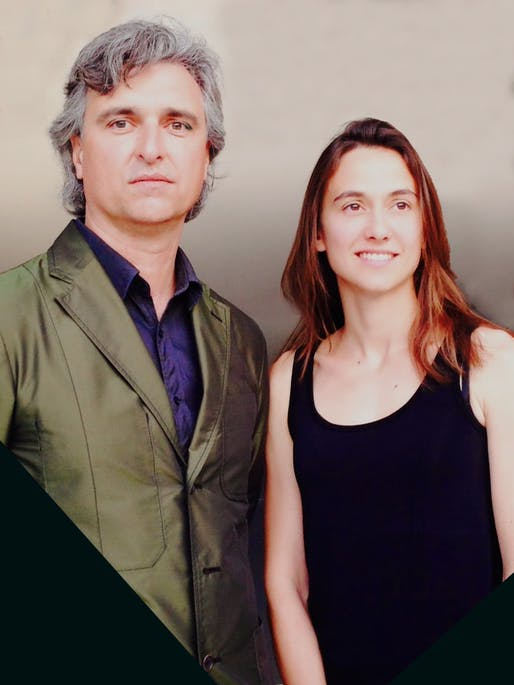 Antón García-Abril and Débora Mesa. Photo courtesy of RIBA.