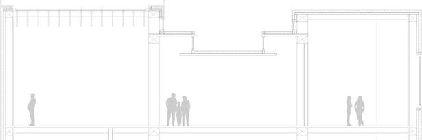 Exhibit space section and enclosure details