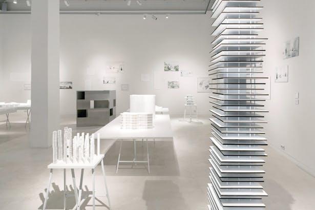 Relations, Aedes Architecture Forum, Berlin. Photo by Erik Jan Ouwerkerk.