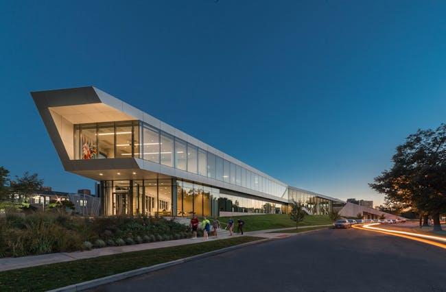 World Architecture Festival 2015 shortlist - Case Western Reserve University Tinkham Veale University Center by Perkins + Will.