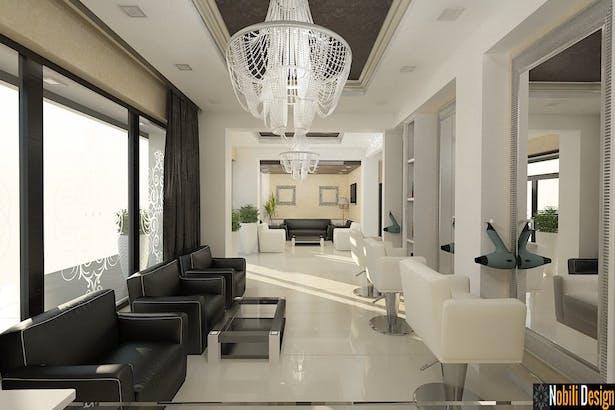 Amenajari Interioare Salon De Infrumusetare Nobili Interior Design