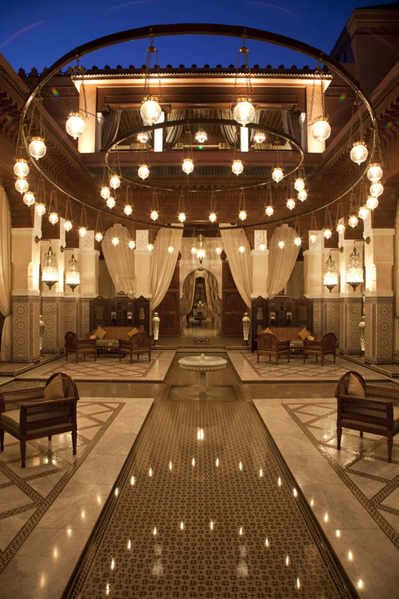 Le Royal Mansour Obm International Archinect