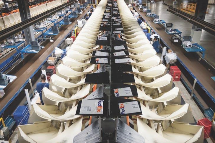 FedEx World Hub, Memphis, Tennesee, 2013. © Fed Ex
