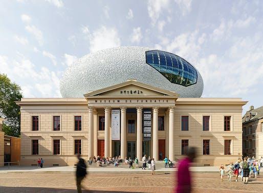 Winner Spatial - Best Exterior: Museum De Fundatie by BiermanHenket Architecten. Photo: Joep Jacobs