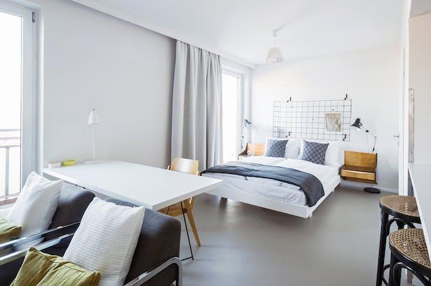 artist-in-residence suite