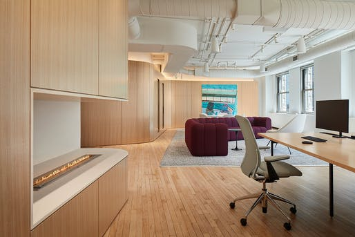 Mansueto Office, Perkins and Will. Photo: Steve Hall, Hall+Merrick Photographers.