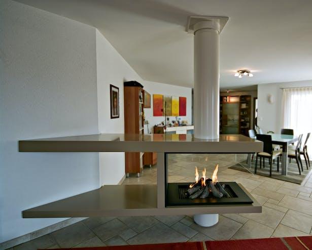 Bloch Design free standing fireplace 1