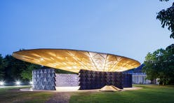 Kéré-designed Serpentine Pavilion extends opening due to popular demand