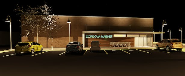 Market Night Rendering 2