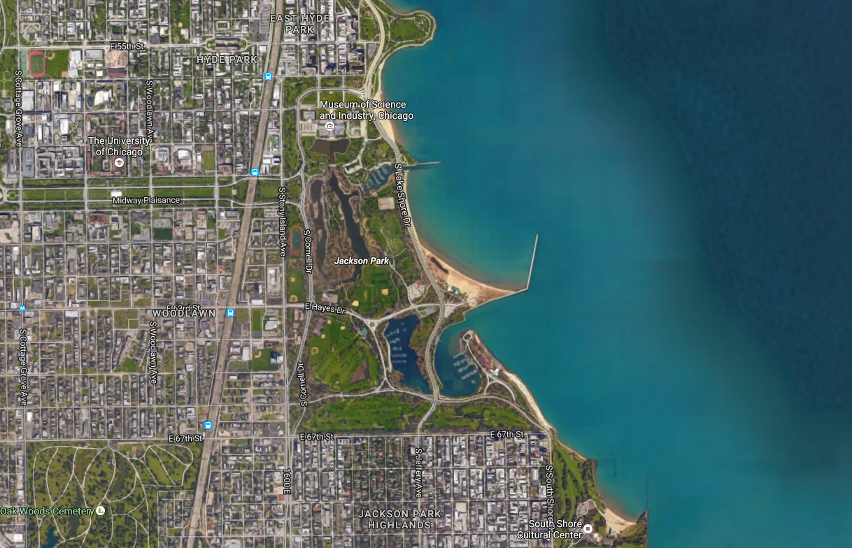 Obama chooses Jackson Park as the site for his Presidential Center